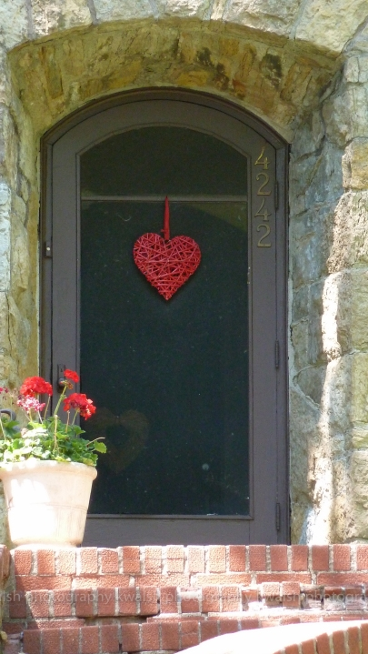 Door with Heart ©kwalsh photography 2015
