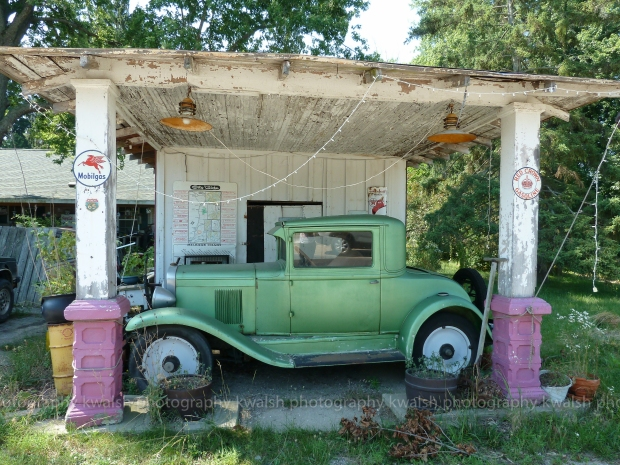 Green Antique Car ©kwalsh photography 2012