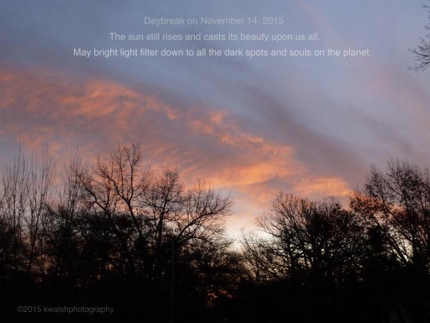 Daybreak Light Filter