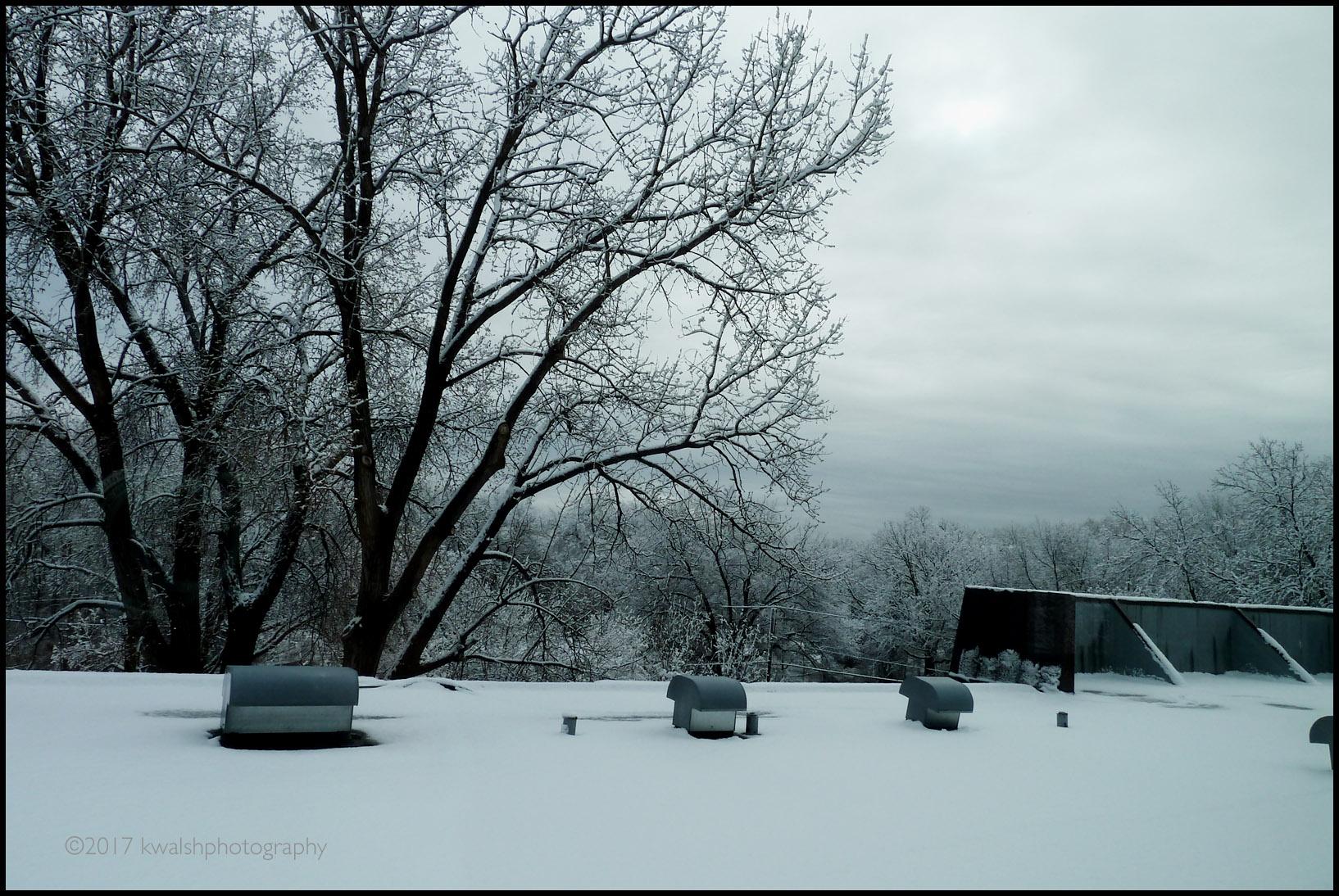 April Snowstorm Roof Blk Brdr